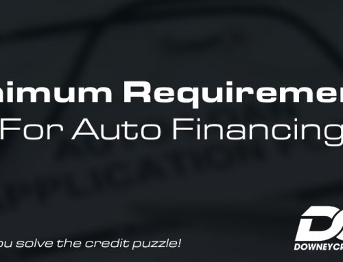 Minimum Requirements for Auto Financing